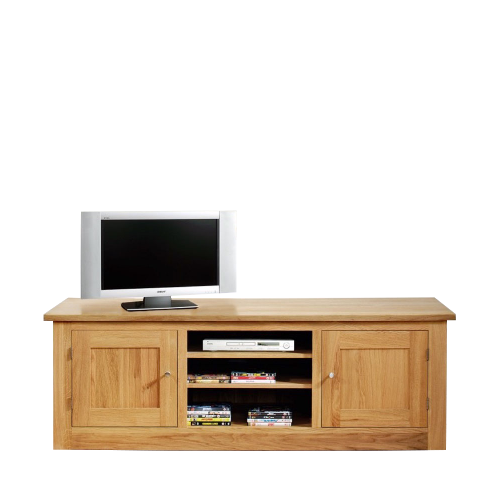 Studio Oak Large 2 Door Media Cabinet