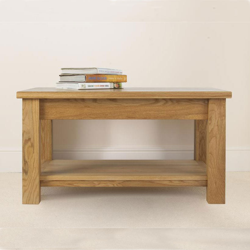 Studio Oak Coffee Table With Shelf