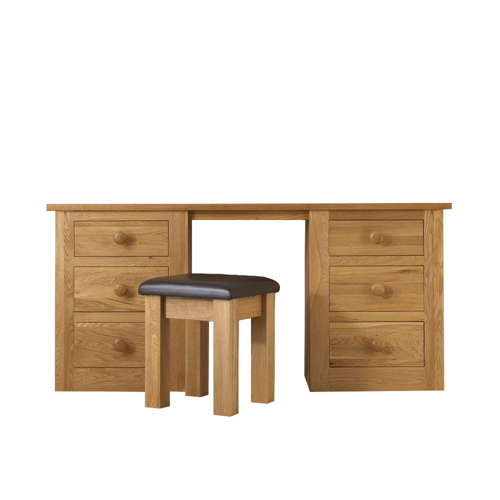 Studio Oak Twin Pedestal Desk