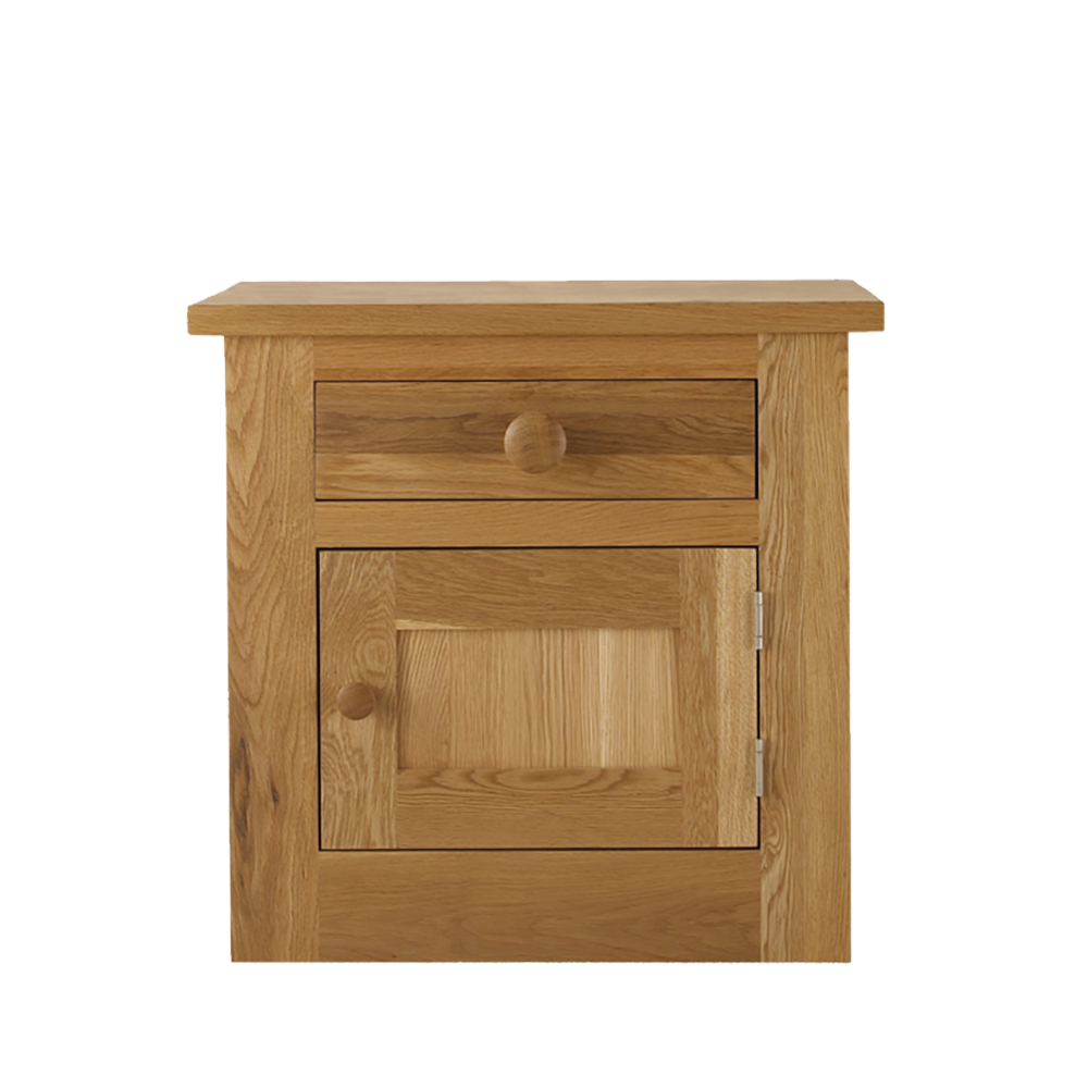 Studio Oak Large Door & Drawer Bedside