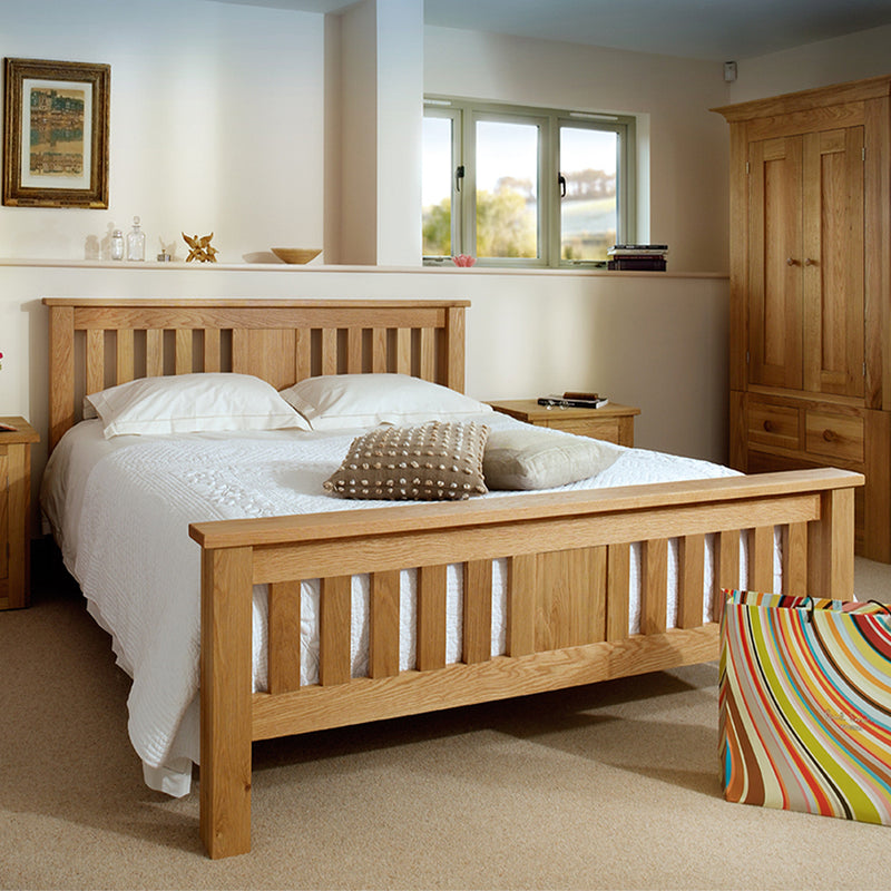 Studio Oak Slatted Bed