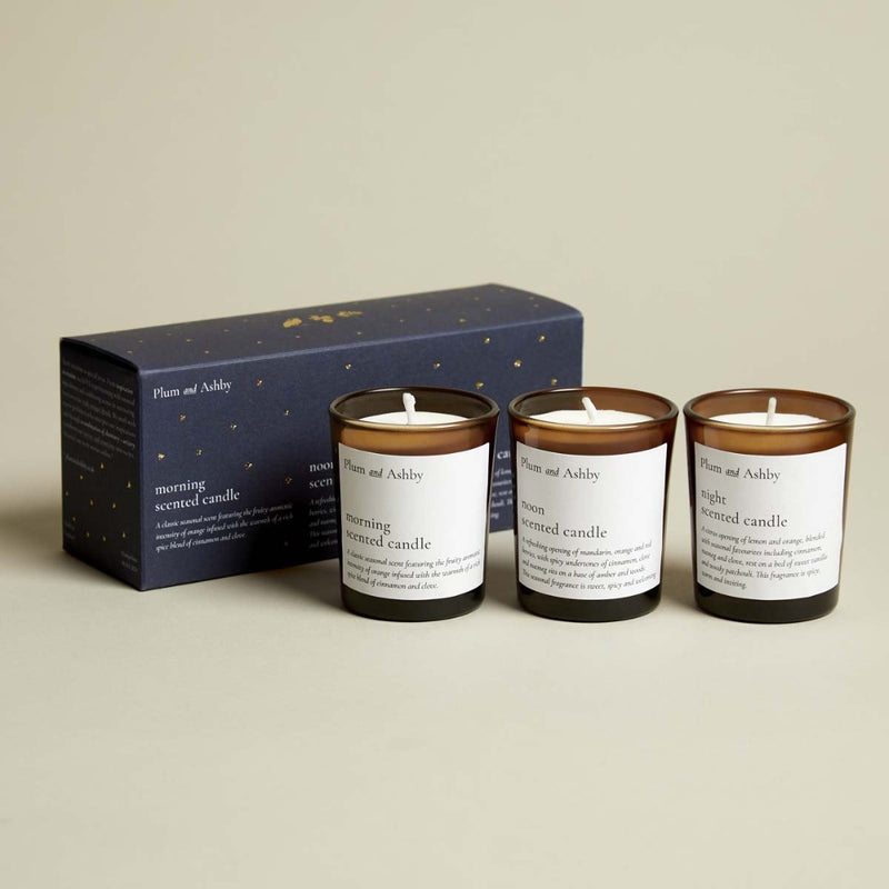 Morning Noon & Night Votive Giftset