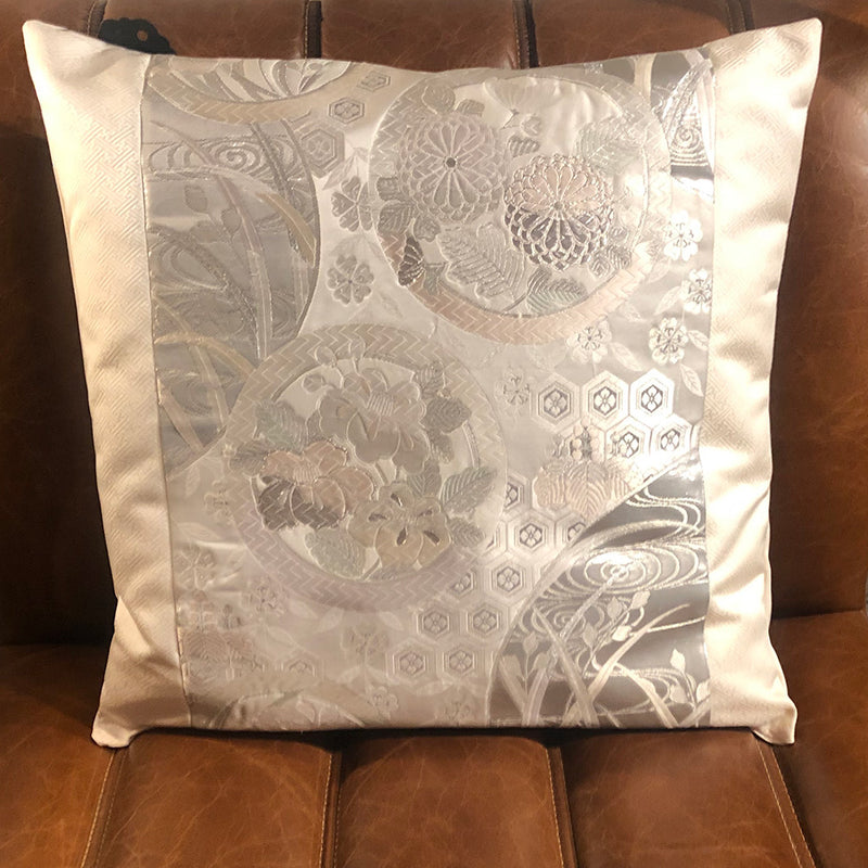 Vintage Wedding Obi Cushion