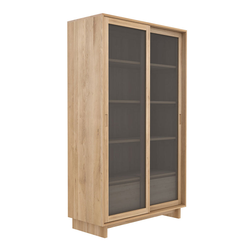 Oslo Oak Bookcase