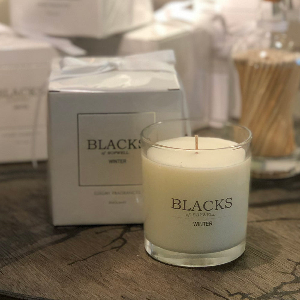 Blacks Winter Candle