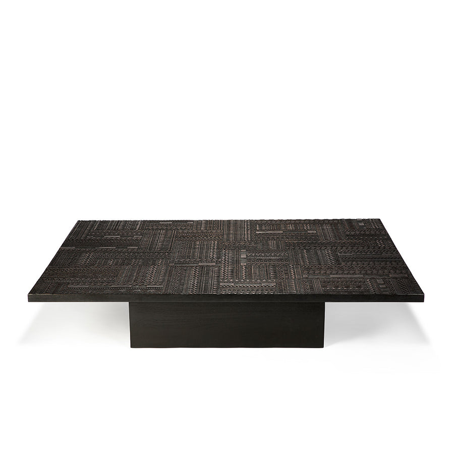 Antix Dark Teak Block Coffee Table – Blacks of Sopwell ...