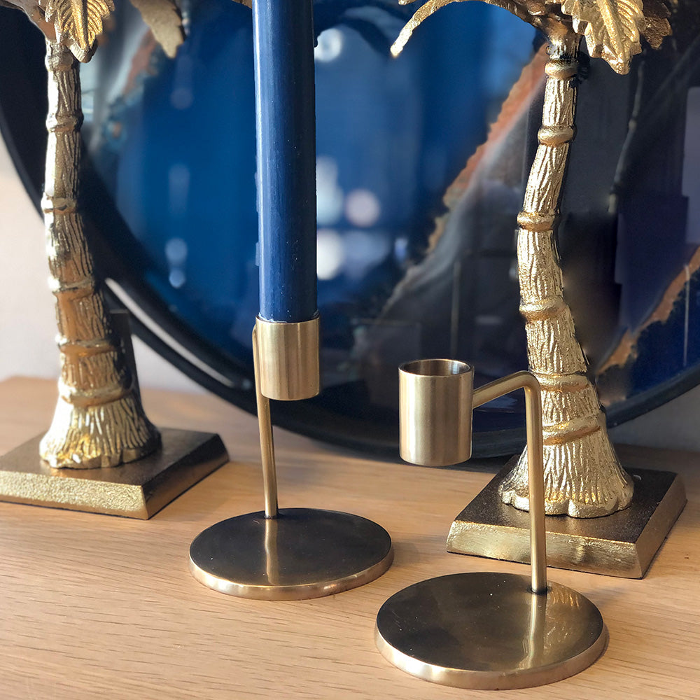 Bronze Arm Candlestick