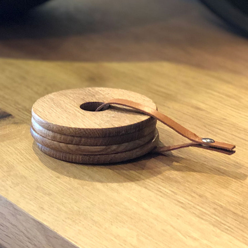 Oak Ring Coasters