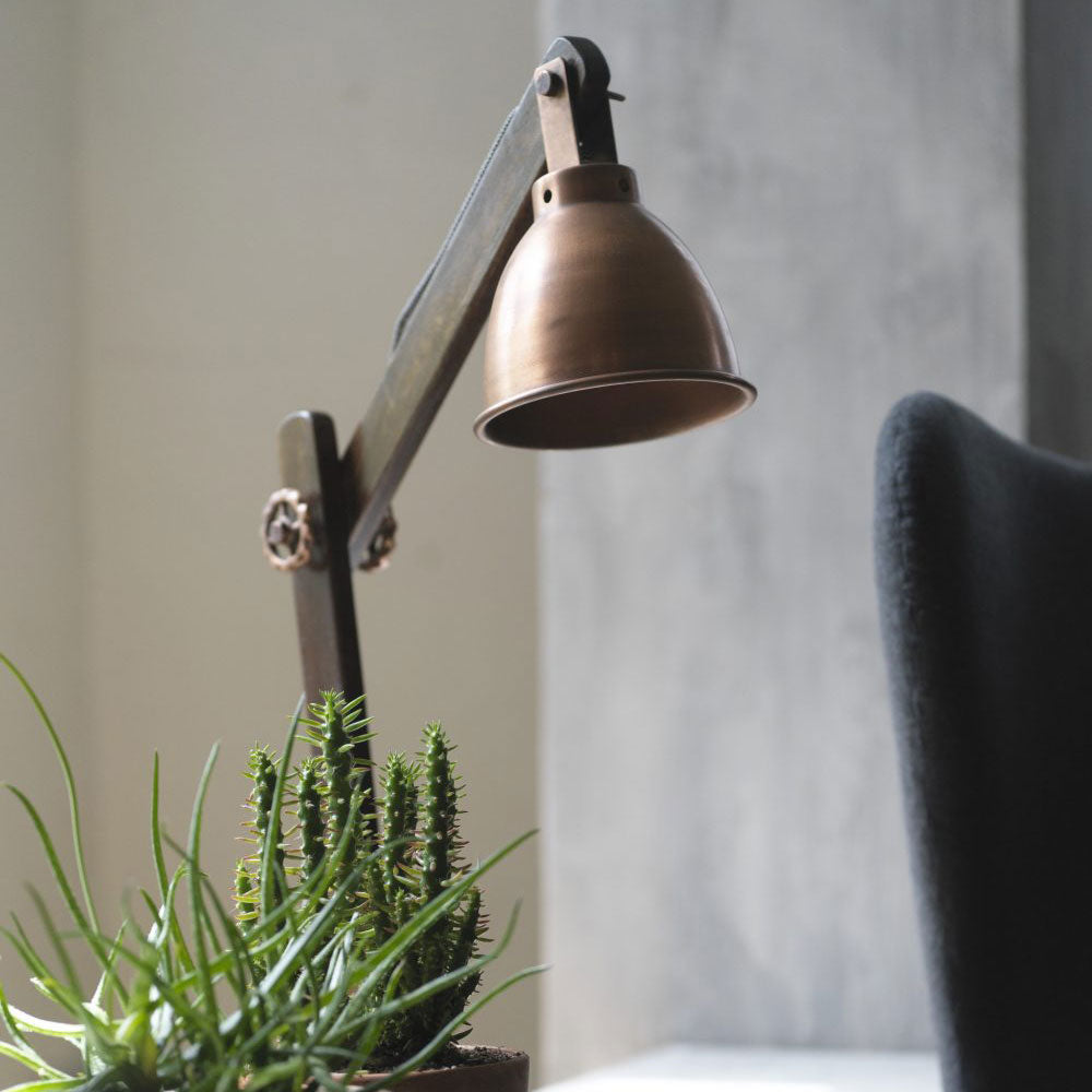 Industrial Lamp - Copper