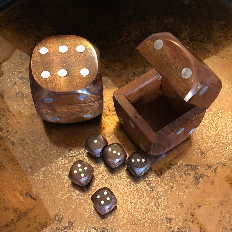Walnut Domino Set