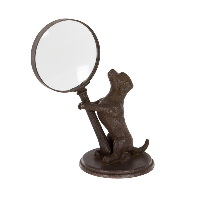 Dog and Magnifier