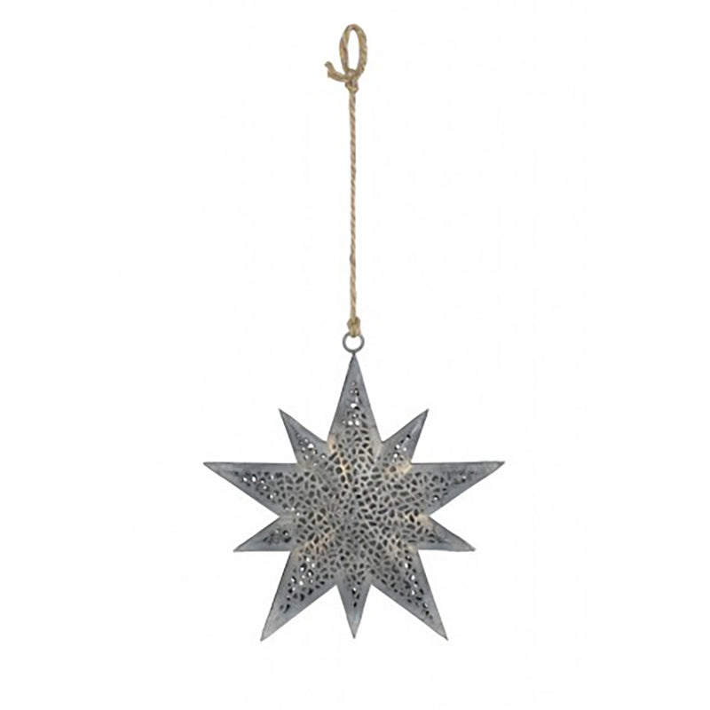 hanging star ornament
