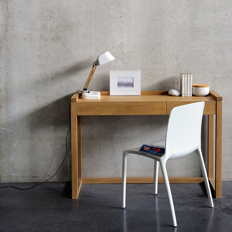 Frame console styled as a modern desk