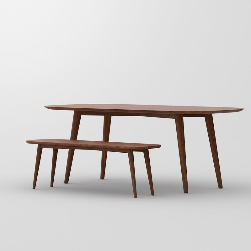 Ambi dining table and bench together - side view.jpg