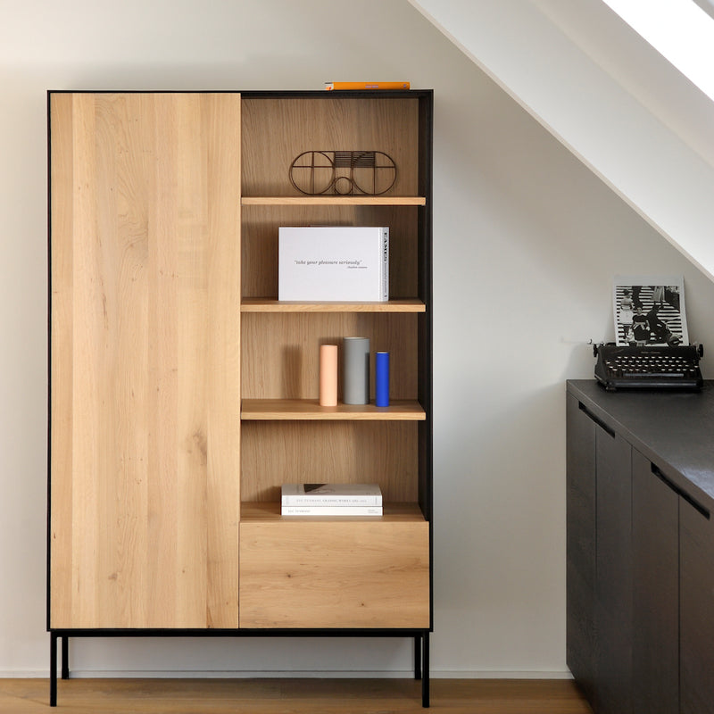 BB-storage-cupboard-lifestyle, set as office storage at home.