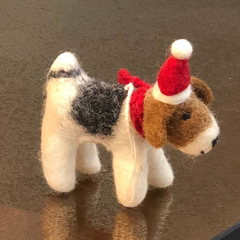 Fox Terrier Decoration