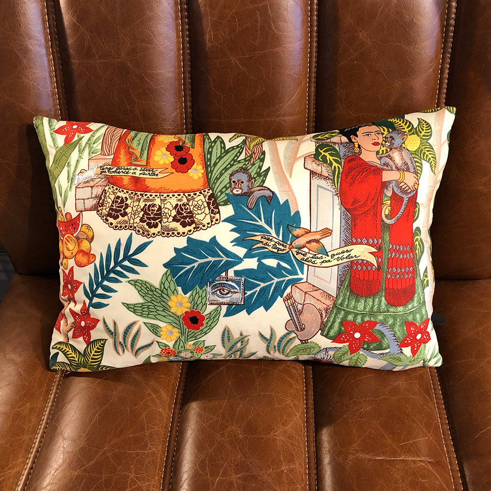 Frida's Garden Cushion Small