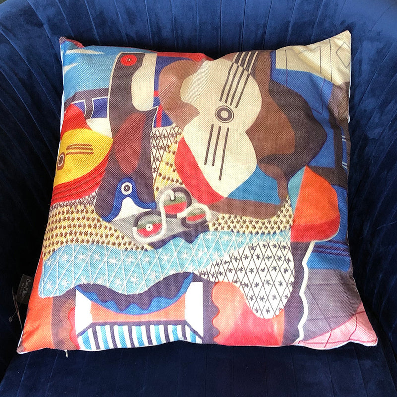 'Mandolin & Guitar' Cushion