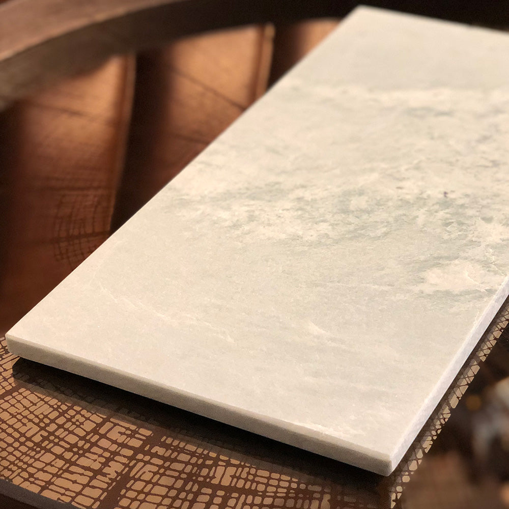 Green Marble Serving Board