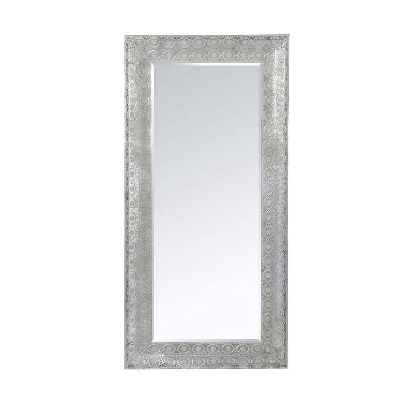 maura mirror - rectangle frame with bevelled mirror.