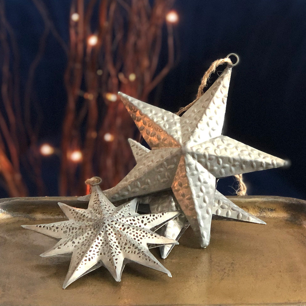 Hanging Metal Star Decoration