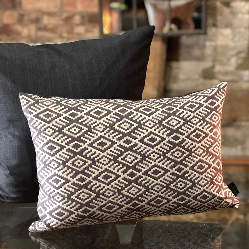 Moroccan Aztec Cushion Small