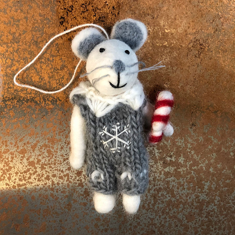 Mr Mouse Christmas Decoration