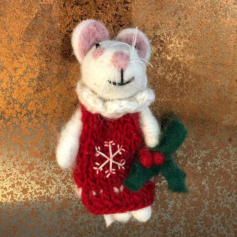 Miss Mouse Christmas Decoration