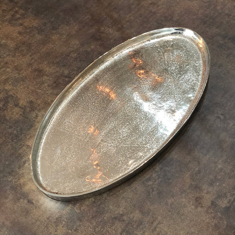 Oval Aluminium Display Dish