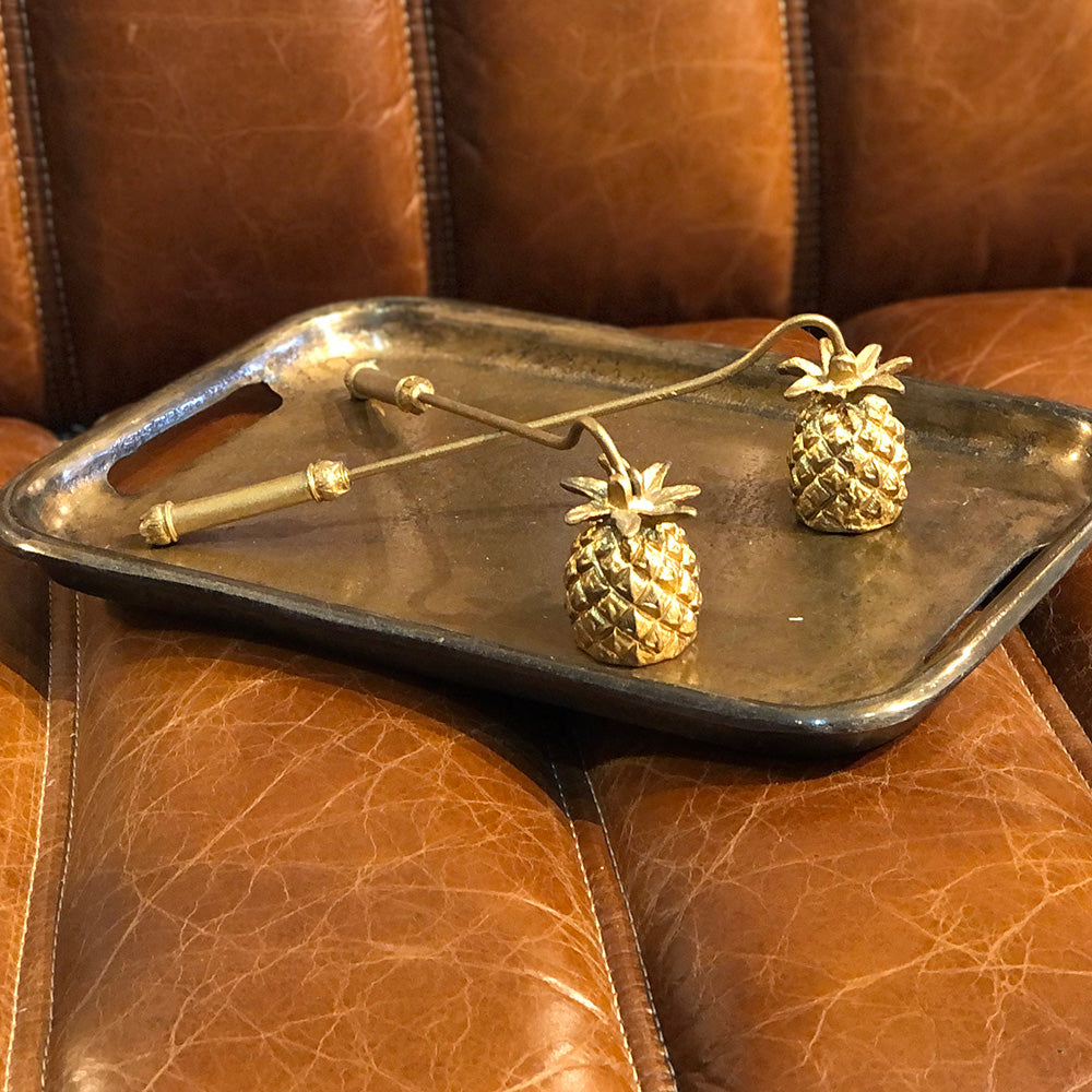 Golden Pineapple Candle Snuffer