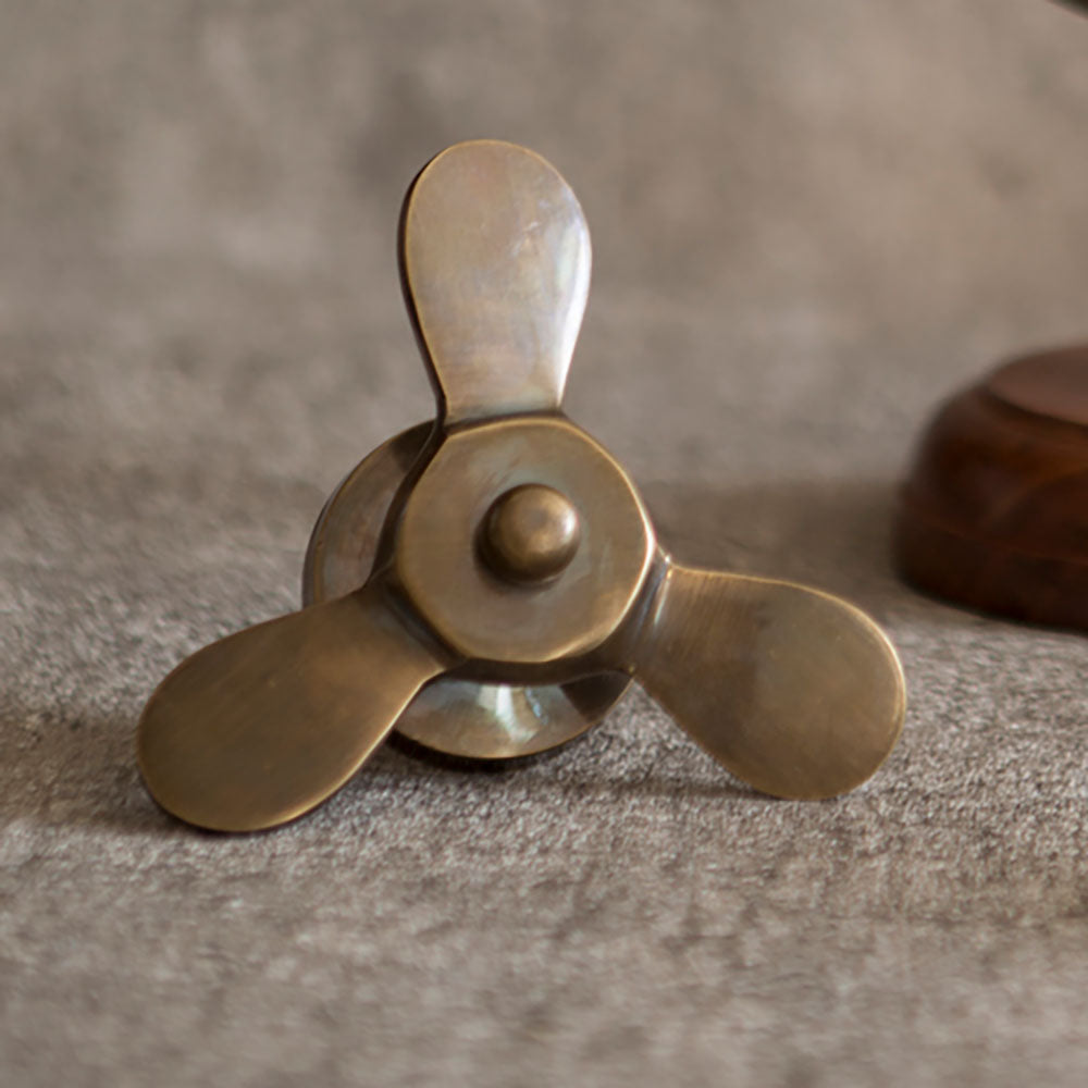 Brass Propellor Bottle Opener