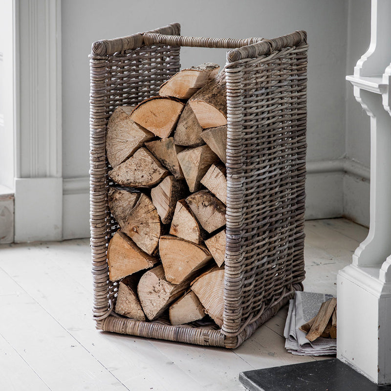 Cambridge Rattan Log Holder
