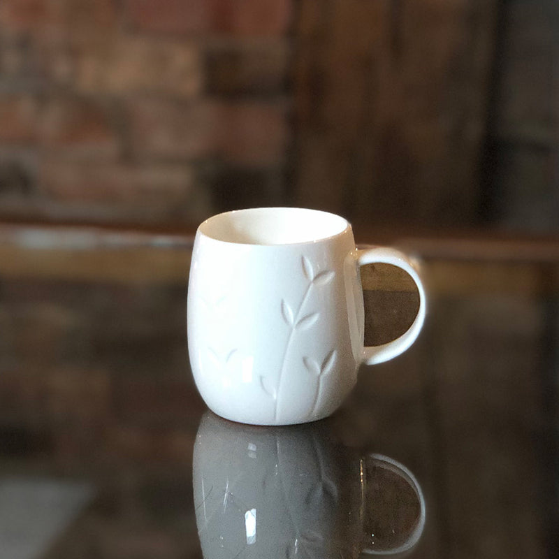 'Sapling' Bone China Mini Mug