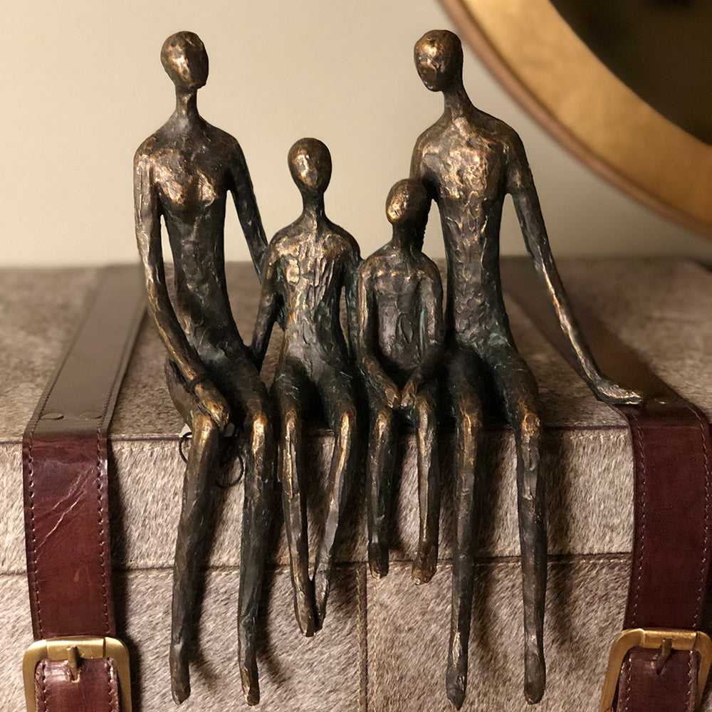 Family Of Four Shelf Sculpture