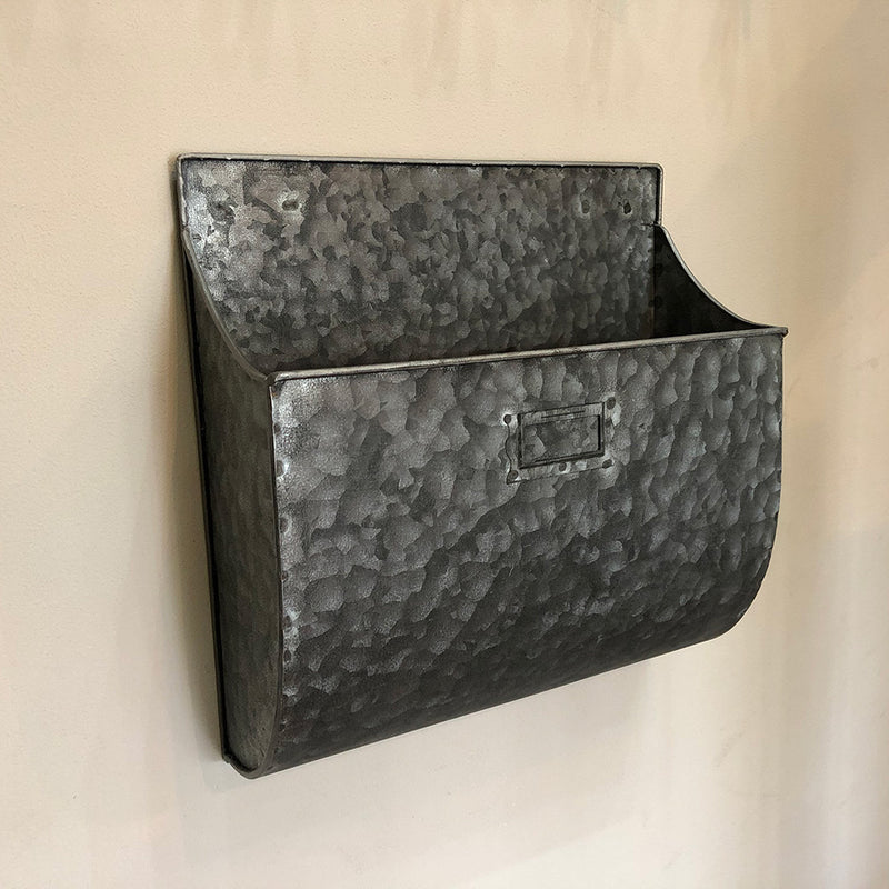Zinc Wall Mounted Storage