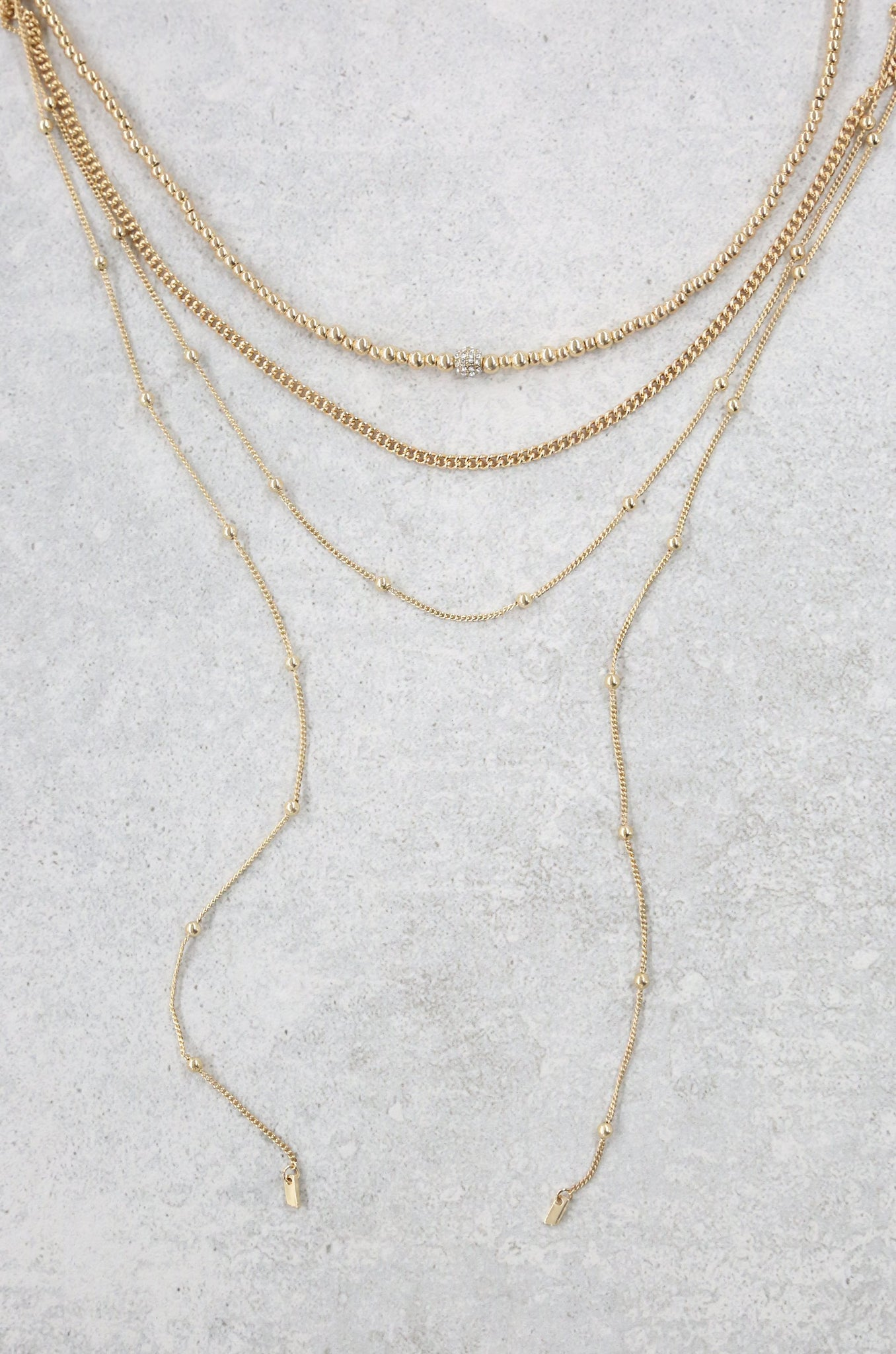Sophisticated Strands Necklace Set