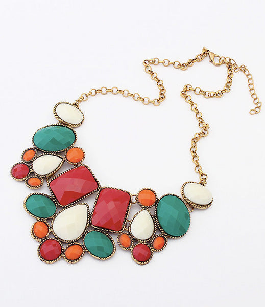 Crusader Jewels Statement Necklace