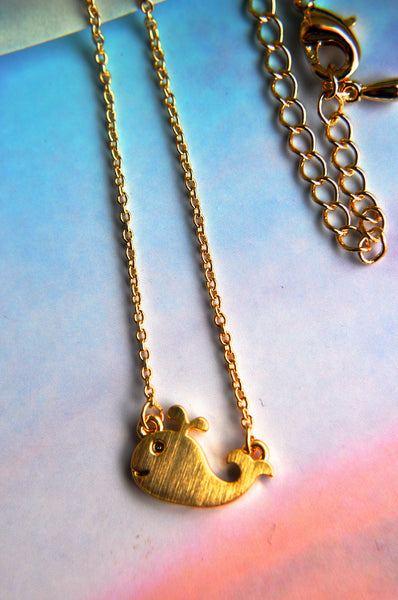 Toby the Whale Necklace