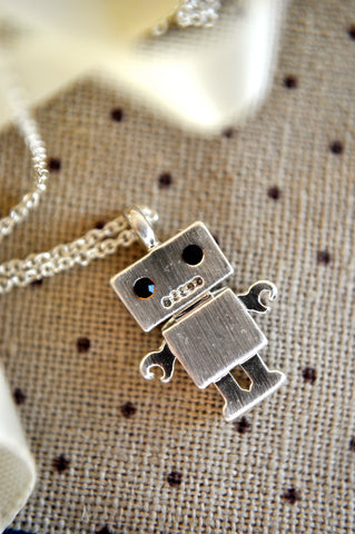 Robot Love Necklace