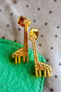 Nigel the Giraffe Earrings