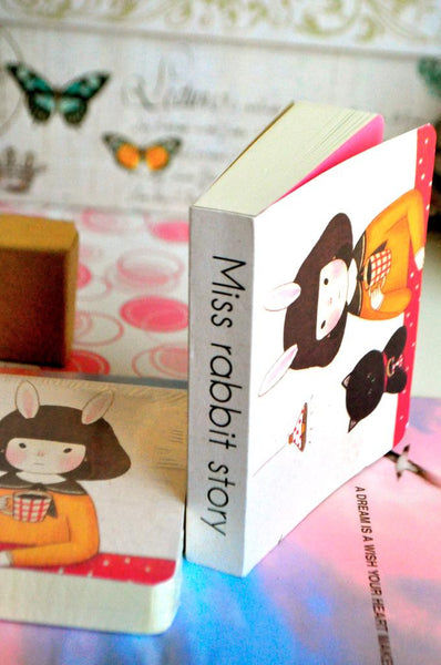 Miss Rabbit Story Doodle Book