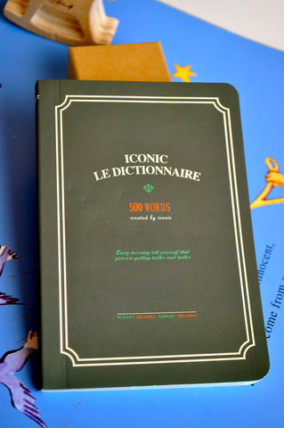 Iconic Le Dictionnaire Notebook