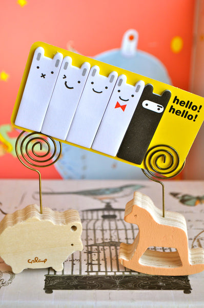 Happy Bunny Ninja Sticky Notes