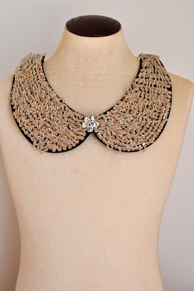 Whisk me Away Bib Necklace