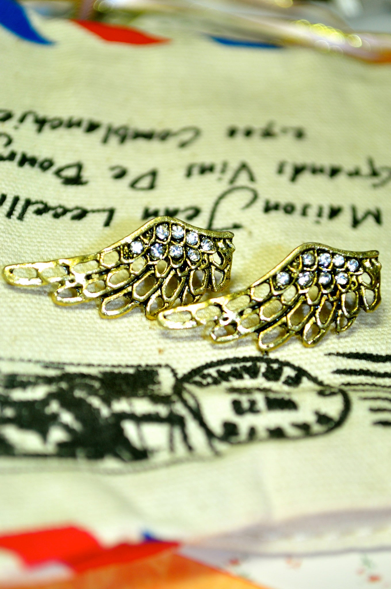Upon Wings Earring