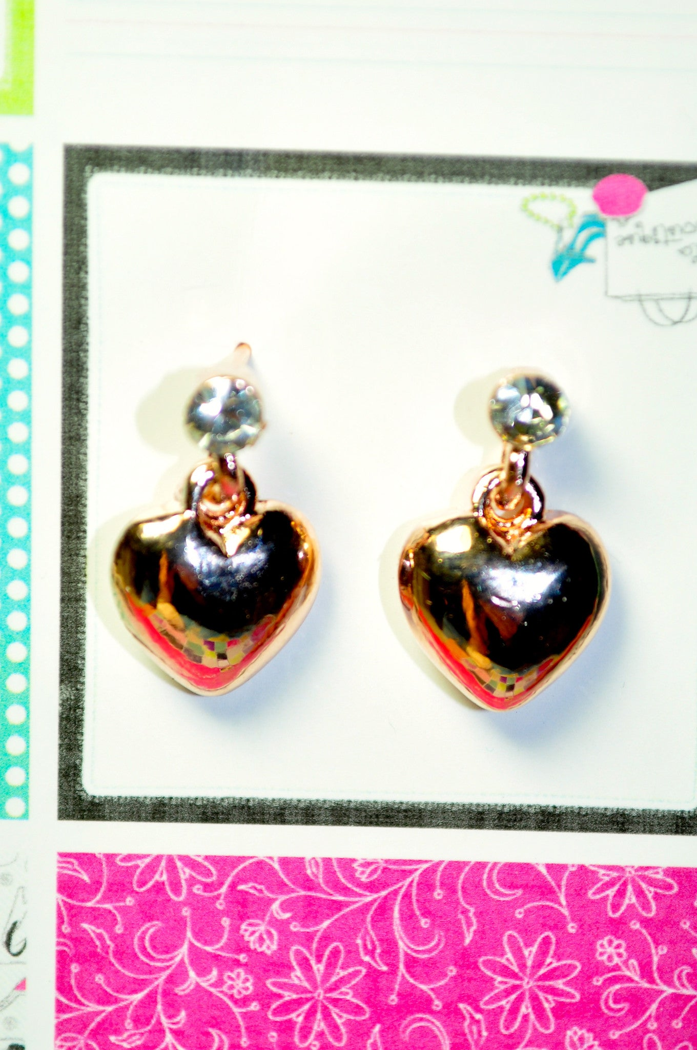 Heart of the Matter Earring