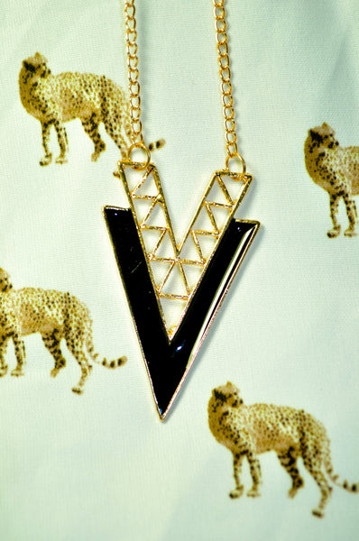 Victorious V Necklace