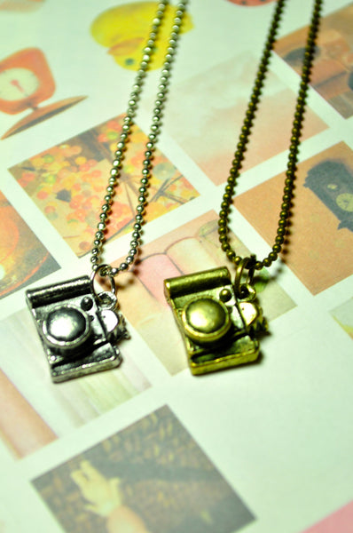 Capture the Moment Camera Necklace