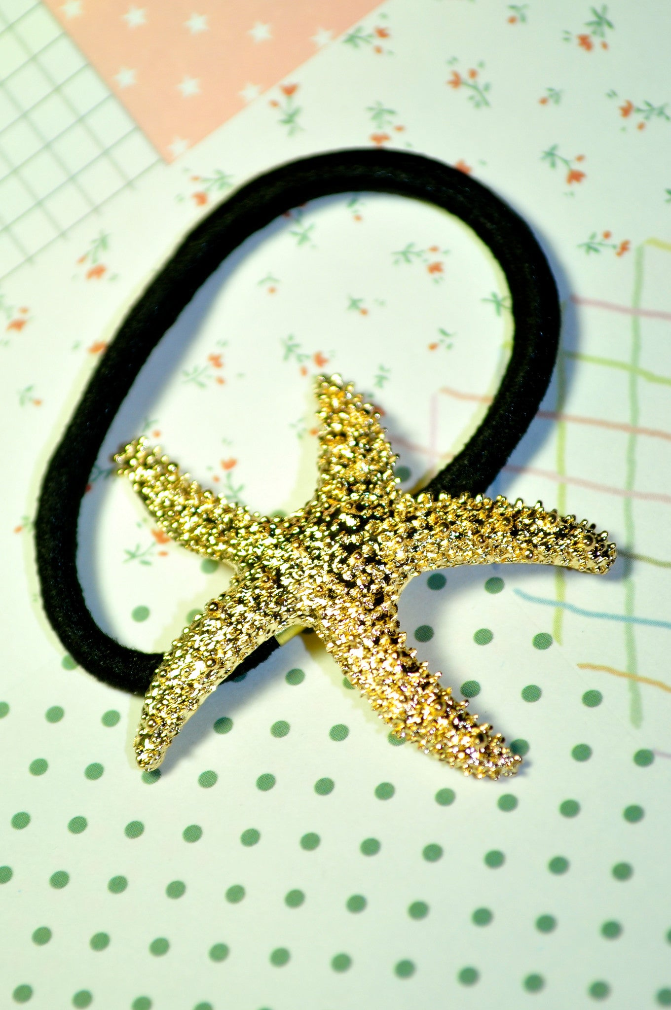 Starfish Hair Tie