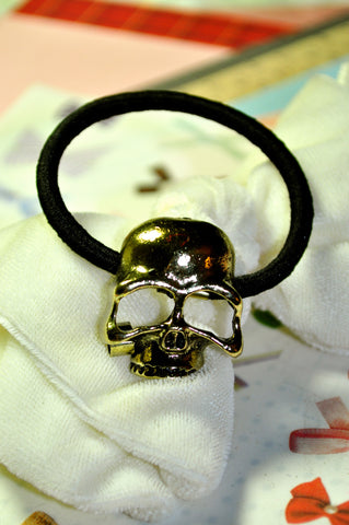 Hollow Skull Hair Tie